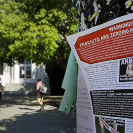 After Ann Coulter Speech Cancellation, Protesters Rally At Berkeley