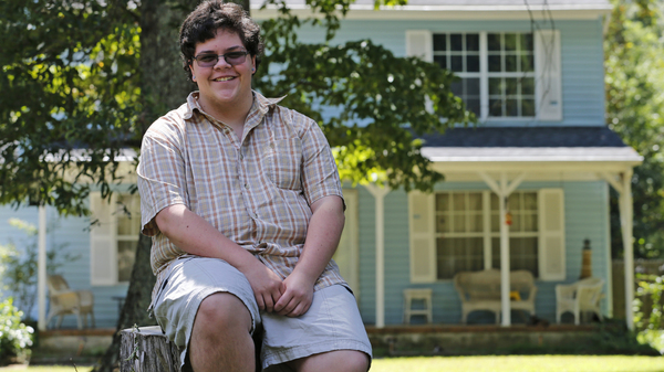 Transgender high school student Gavin Grimm